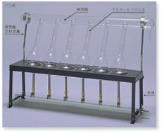 ケルダール窒素分解装置(6コ掛)(ガス式)