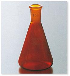 茶褐色三角フラスコ