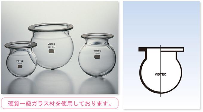 セパラブル・フラスコ(丸形)