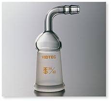排気管曲管メス型(先端ゴム止め付8㎜)