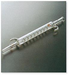 透明摺合蛇管冷却器(グラハム氏)