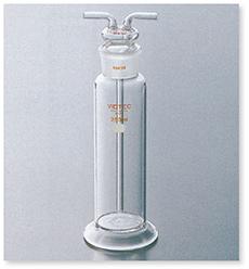 ガス洗浄瓶(ストレートタイプ)