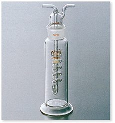 ガス洗浄瓶(ウォルター式)