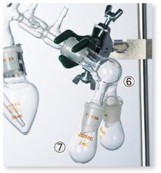 セミ・ミクロ減圧蒸留装置Ⅰ型