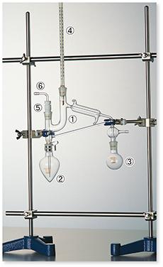 セミ・ミクロ蒸留装置Ⅰ型