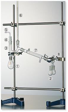 セミ・ミクロ減圧蒸留装置Ⅱ型