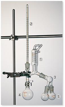 セミ・ミクロ蒸留装置Ⅱ型