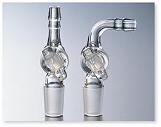 セミ・ミクロ排気管(コック付)