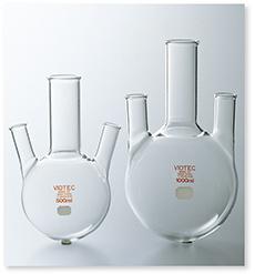三ッ口フラスコ(JIS R-3503準拠)