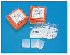 ヘモカバーグラス干印(血球計算用)