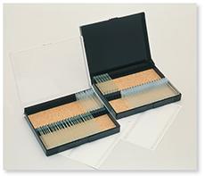 プレパラート標本箱(プラスチック)
