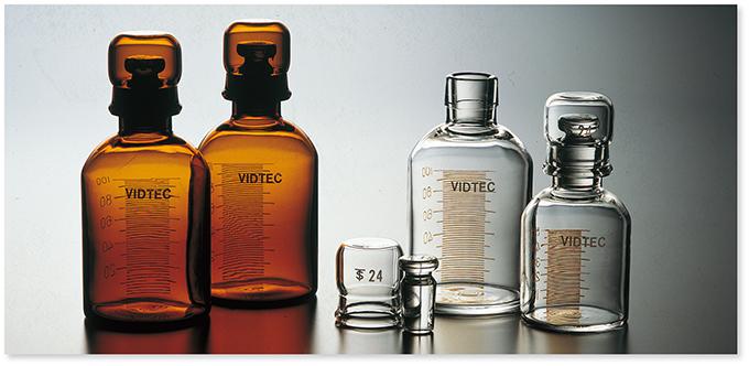 透明摺合標準試薬保存容器(目盛入スタンダードカプセル)(透明)