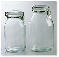 保存瓶(シリコンパッキング付)