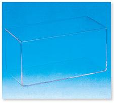角形ガラス容器(溶接加工品)