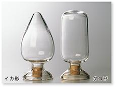 種子瓶(タコ形)(コルク栓付)
