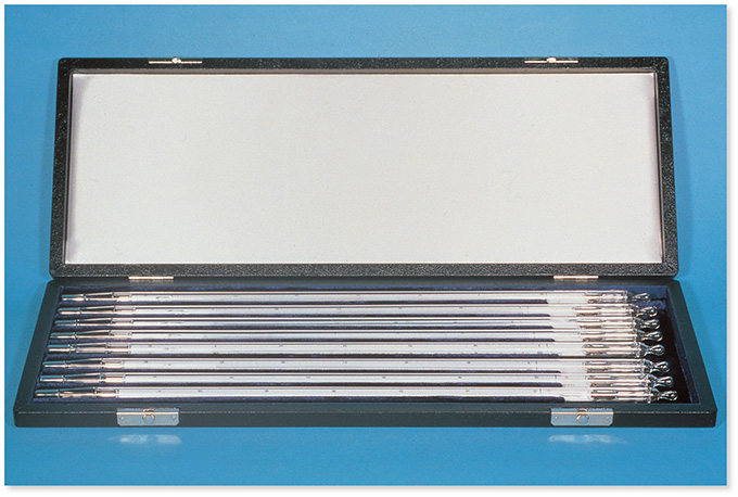 標準温度計(棒状)