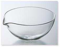 石英蒸発皿(丸底)