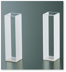石英セル(分光光度計用)(二面透明)