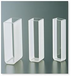 ガラスセル(分光光度計用)(二面透明)