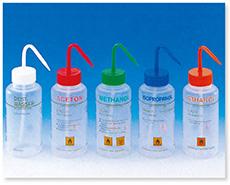 洗浄瓶(広口)(通気弁付)(LDPE BRAND)