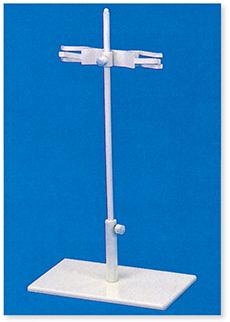 ビューレット台(2本掛)(ビューレット挟み付)(PVC)