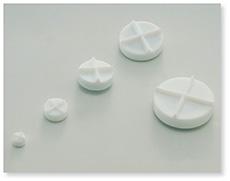 フッ素樹脂撹拌子円盤形(PTFE)