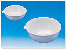 蒸発皿丸底(磁製)C.C.