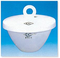 ルツボ(A型)(磁製)C.C.
