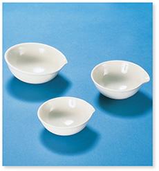 蒸発皿丸底(磁製)