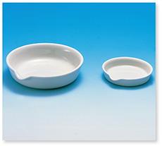 蒸発皿平底(磁製)
