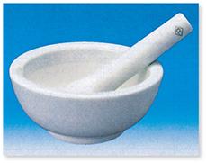 化陶形乳鉢(磁製)C.C.