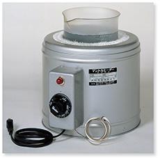 ビーカー用マントルヒーター(自動温度調節器内蔵GBRT型)