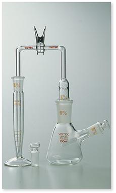 砒化水素発生捕集装置Ⅱ型(JIS K-0101準拠)(JIS K-0102準拠)