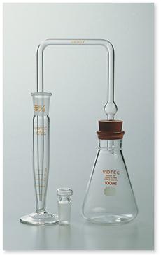 砒化水素発生捕集装置Ⅰ型(JIS K-0101準拠)(JIS K-0102準拠)