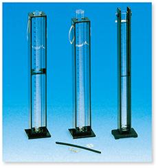 透視度計(アクリル架台付セット)(JIS K-0101準拠)(JIS K-0102準拠)