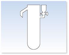 オーバーフロー型シリンダー(JIS K-2249準拠)