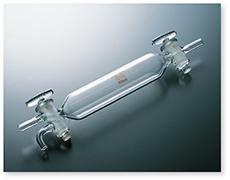 ガス採取管(一端三方)
