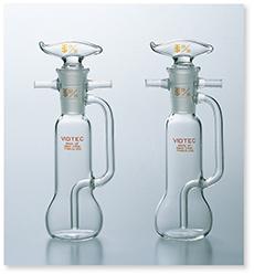 吸湿瓶(シェーフィールド形)(JIS Z-8808準拠)(JIS M-8813準拠)
