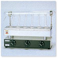 ケルダール窒素分解装置(6コ掛)(電熱式)