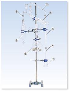 SPCミクロケルダール窒素定量装置(パルナスワグナー形)