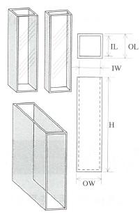 標準セル(2面透明)