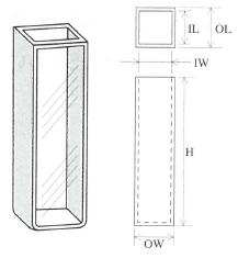 標準セル(曲底2面透明)