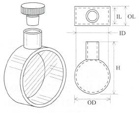 大型円筒セル