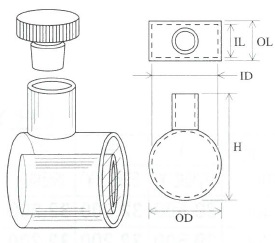 短光路円筒セル