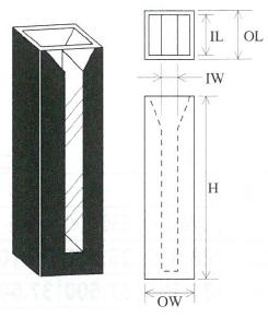 セミマイクロブラックセル(2面透明)