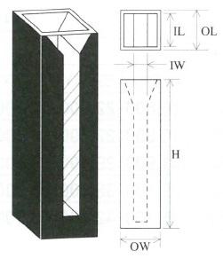 特殊マイクロブラックセル(2面透明)