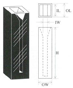 マイクロブラックセル(2面透明)