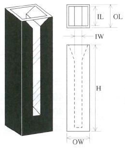 上底マイクロブラックセル(2面透明)