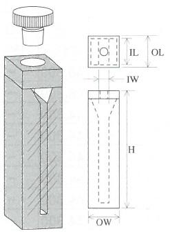 栓付マイクロセル(2面透明)