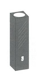 サブマイクロブラックセル(2面透明)